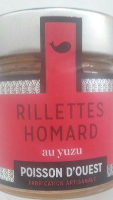 Rillettes Homard au Yuzu - Produit - fr