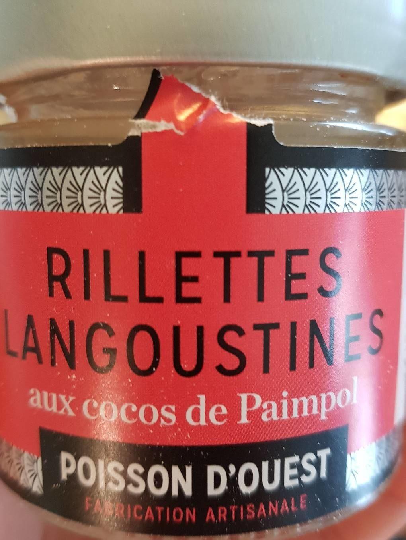 Rillettes de Langoustines au Cocos de Paimpol - Produit - fr