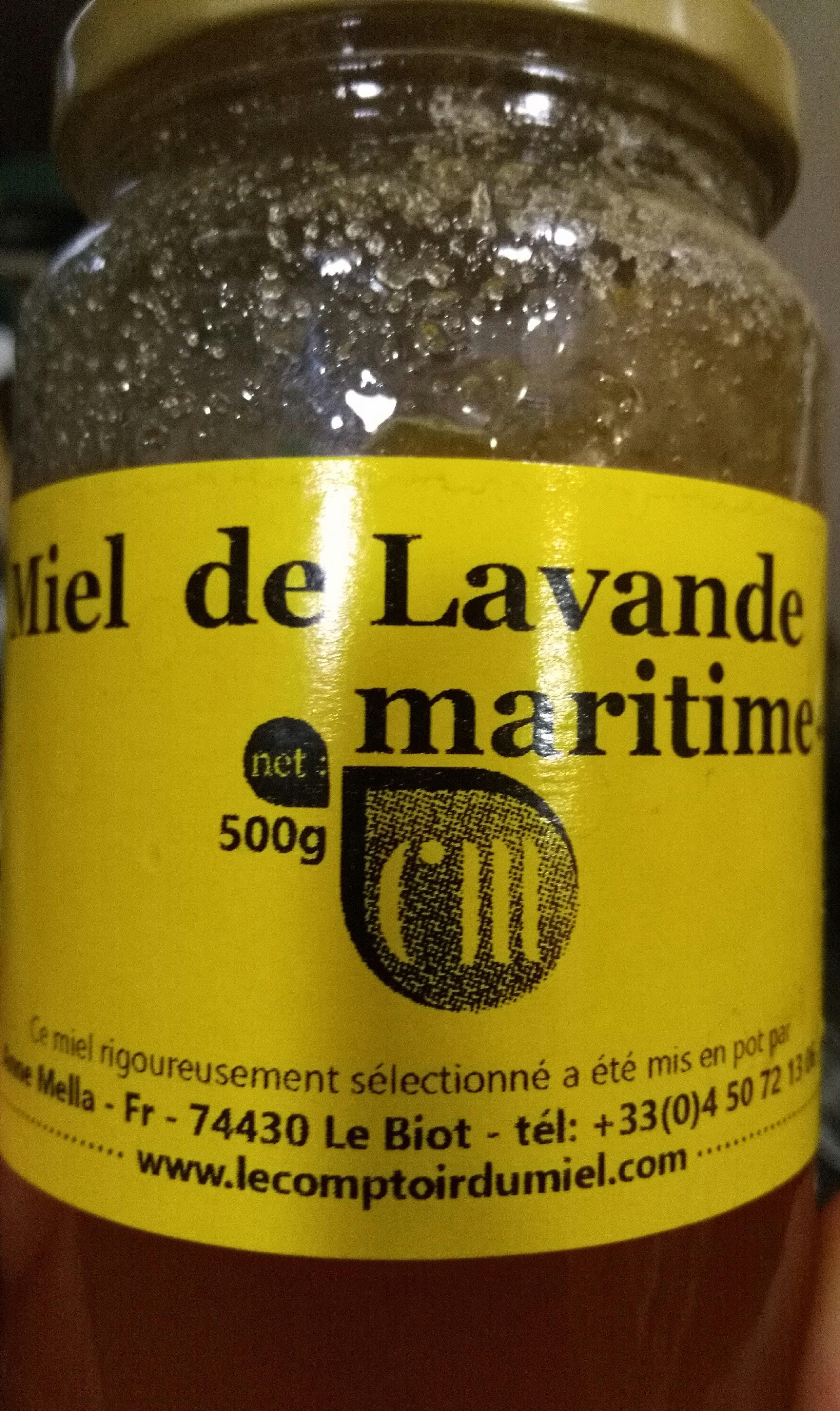 Miel de Lavande maritime - Producto - fr