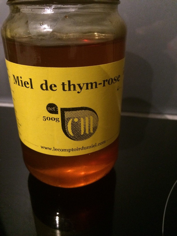 miel de thym rose