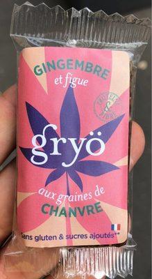 Gryö gingembre et chanvre - Product