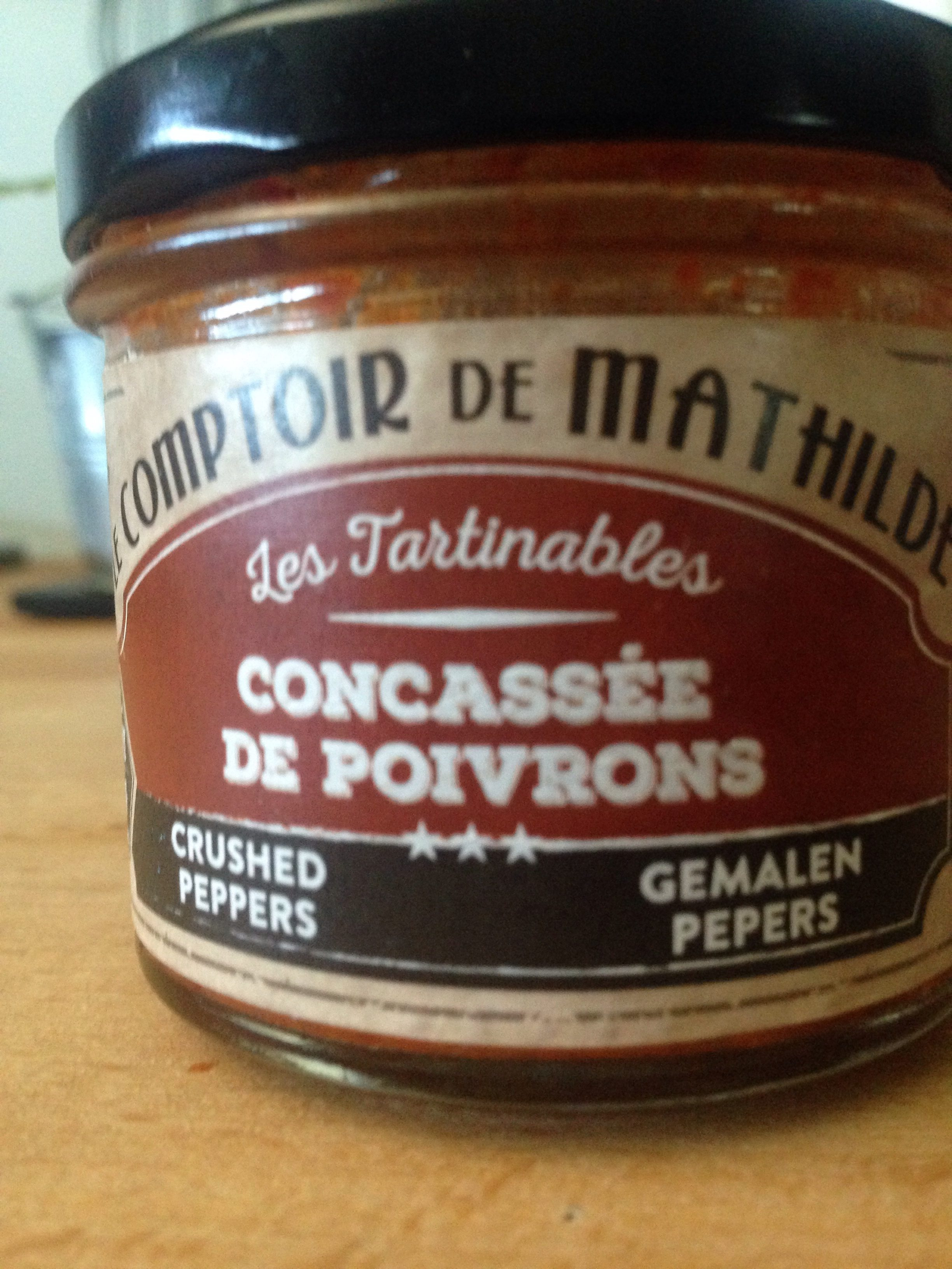 Concassée de Poivrons - Ingrédients