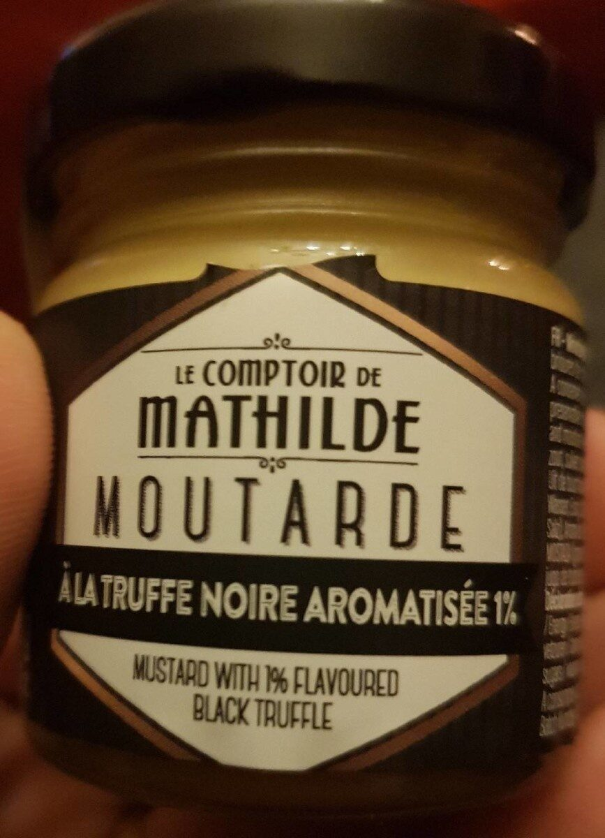 Moutarde truffe noire aromatisée - Product - fr