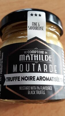 Moutarde truffe noire aromatisée - Voedingswaarden - fr