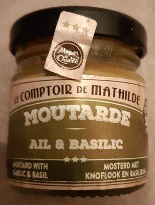 Moutarde ail et basilic - Produit