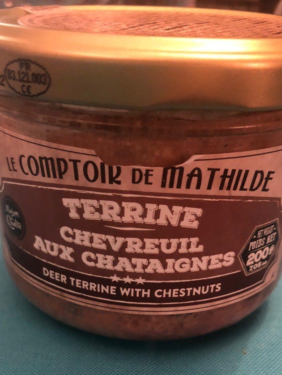 Terrine chevreuil aux chataignes - Produit - fr