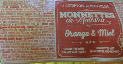 Nonettes de Mathilde - Produit - fr