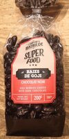 Gogi berries coated with dark chocolate - Product - fr