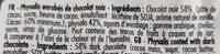 Physalis chocolat noir - Ingredienti - fr