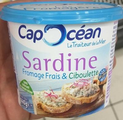 Sardine Fromage Frais & Ciboulette - Product - fr