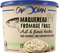 Tartinable Maquereau Fromage Frais & Ciboulette - Product - fr