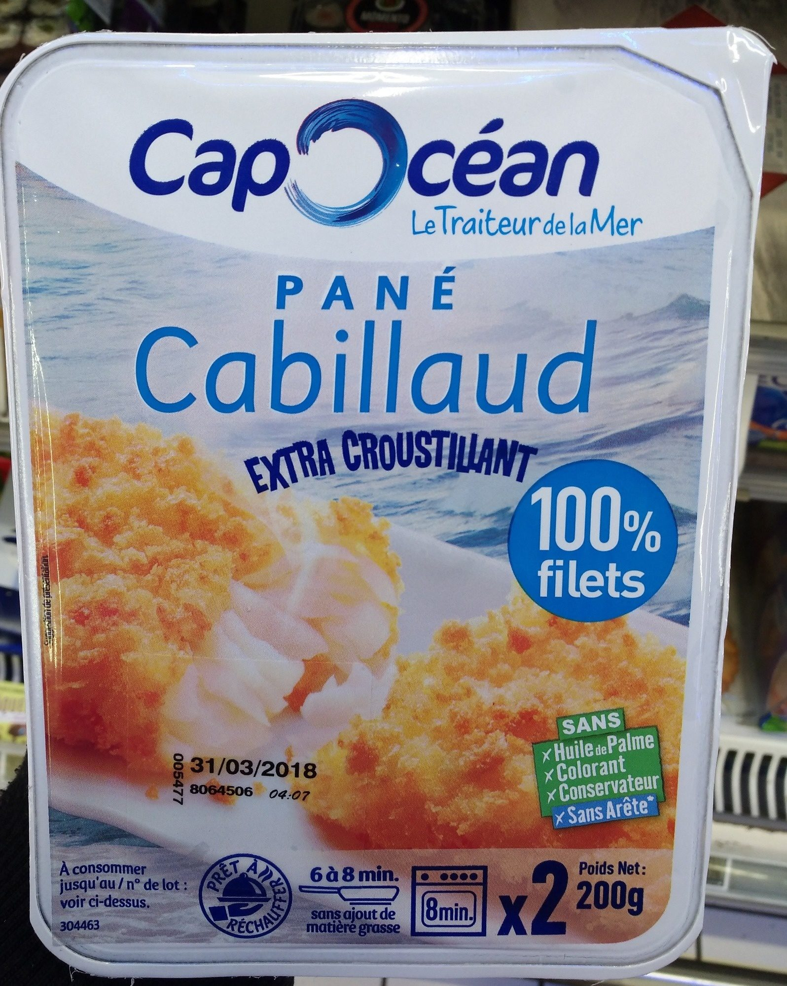 Pané Cabillaud 100% filets - Product