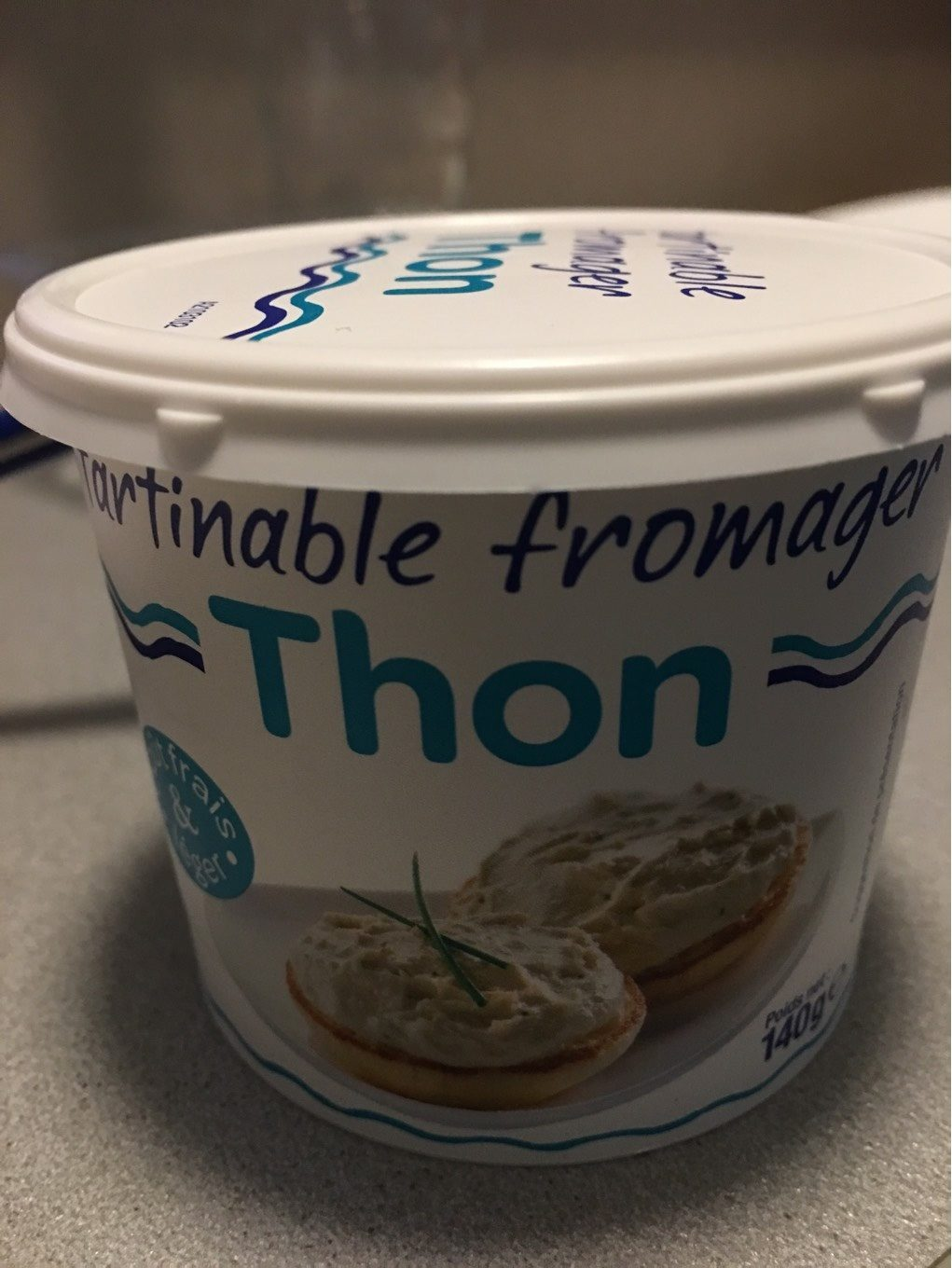 Tartinable fromager thon - Product