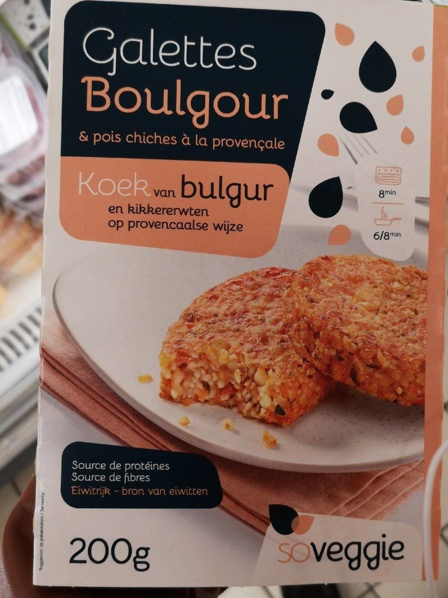 Galettes boulgour - Product - fr