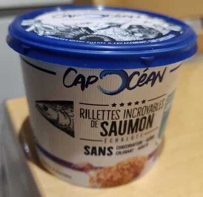 Rillettes incroyables de saumon échalote - Produit - fr