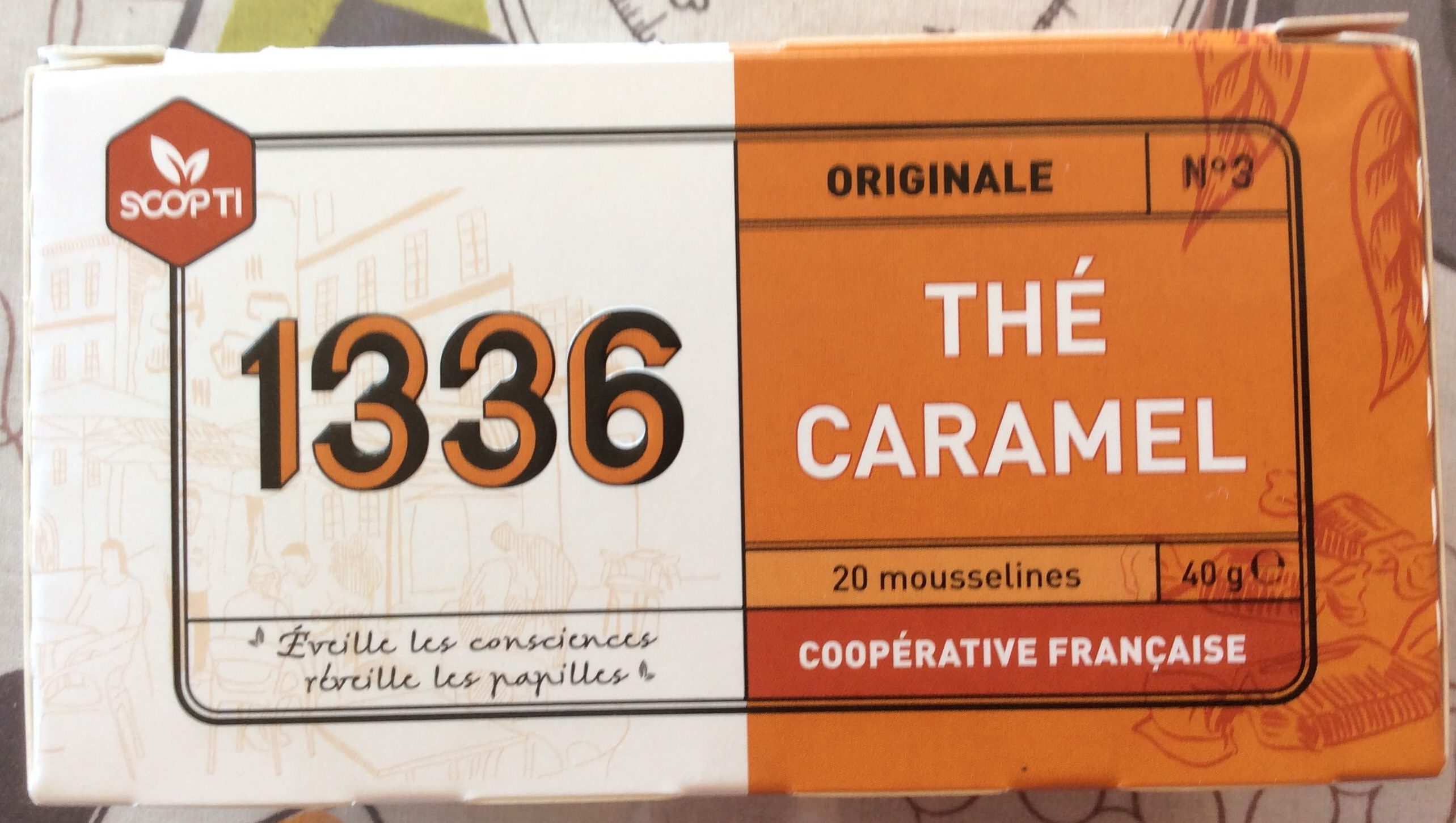 Thė caramel - Product - fr