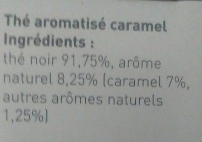 Thė caramel - Ingredients - fr