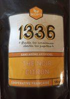 1336 - Thé noir aromatisé Citron - Product - fr