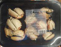 Pinces de tourteaux cuites - Product