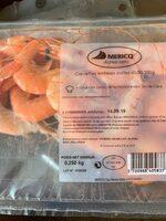Crevettes entières cuites 60/80 250g - Product - fr