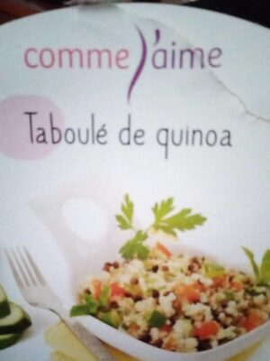 Taboulé de quinoa - Product - fr