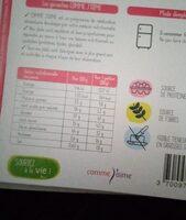 Taboulé de quinoa - Nutrition facts - fr
