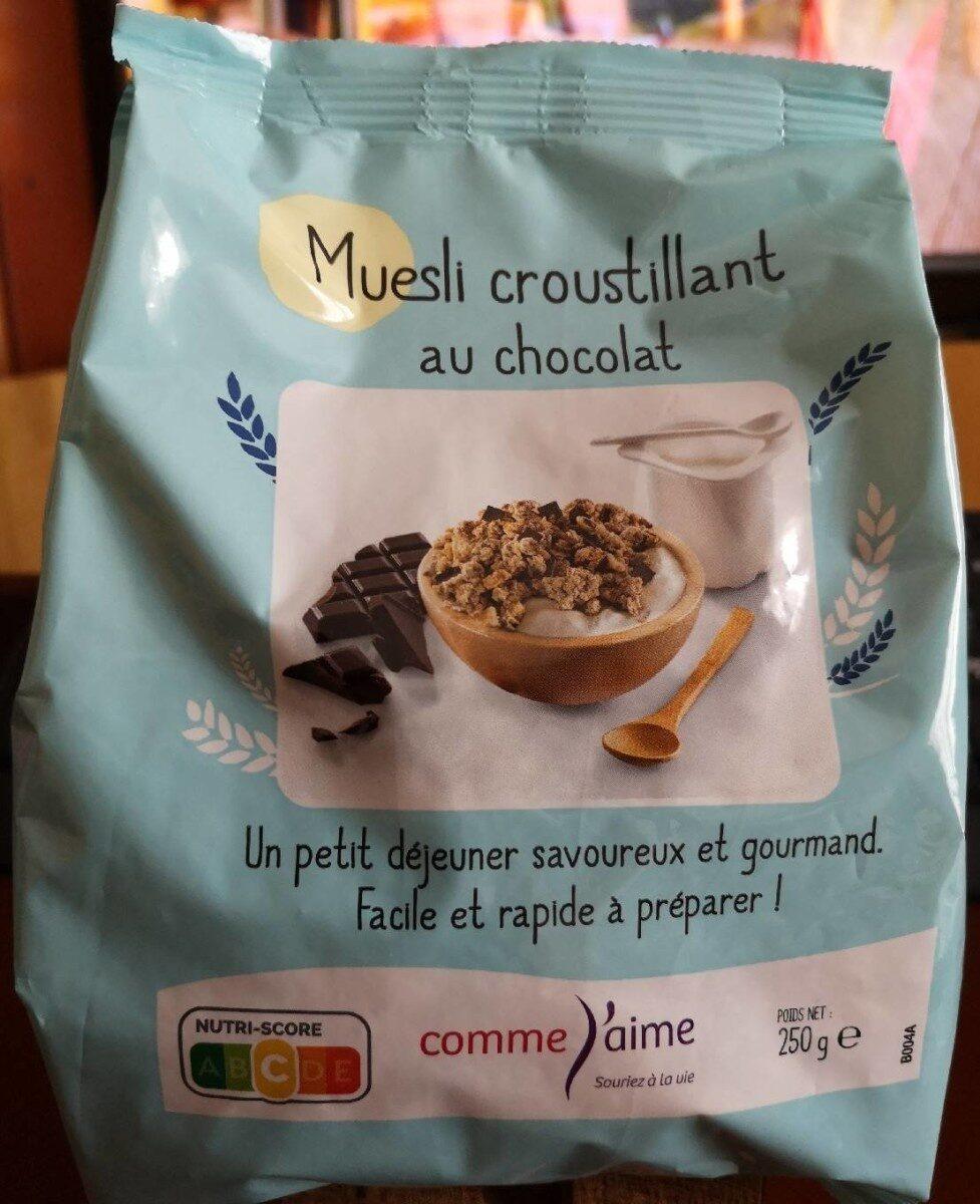 Muesli croustillant au chocolat - Product - fr