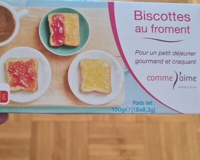 Biscottes au froment - 1
