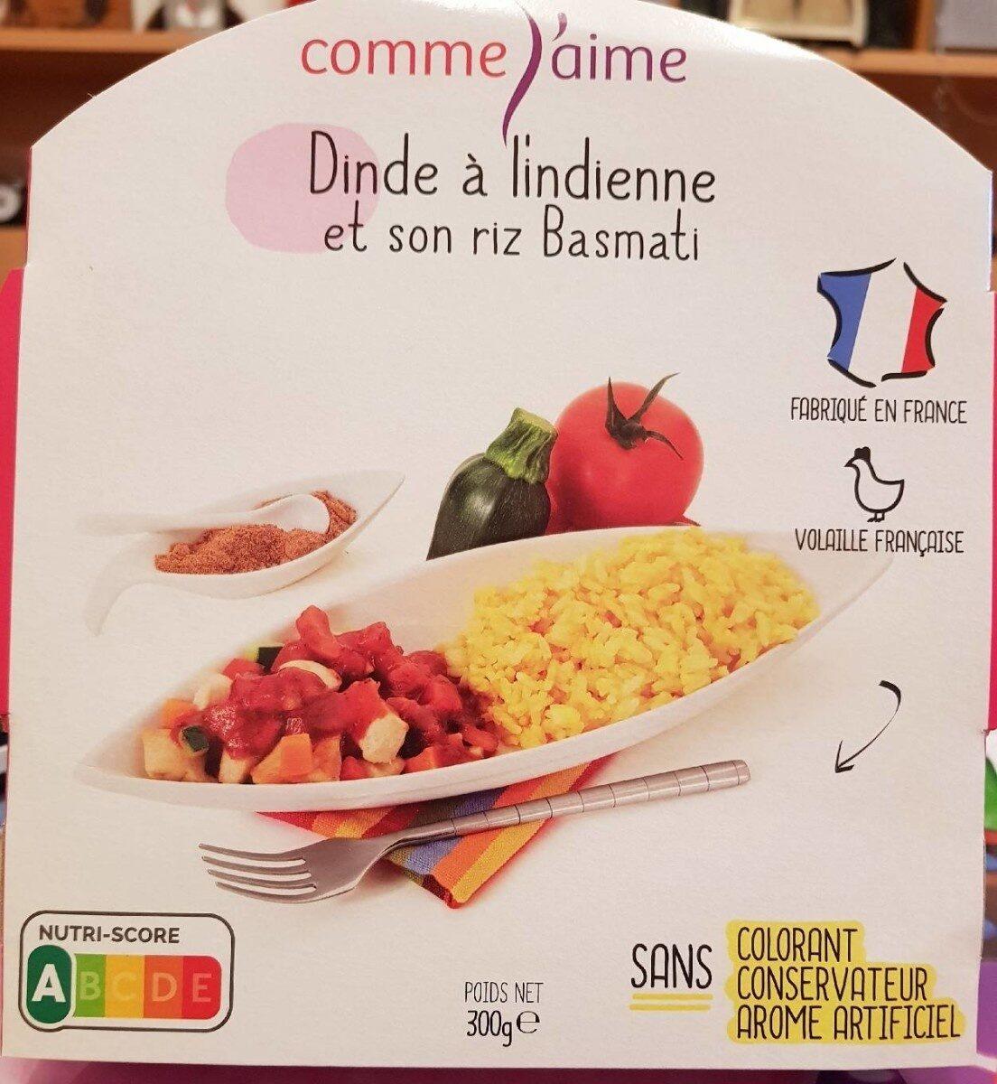 Dinde à l'indienne et son riz Basmati - Produkt - fr