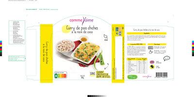 Curry pois chiche à la crème de coco - Prodotto - fr