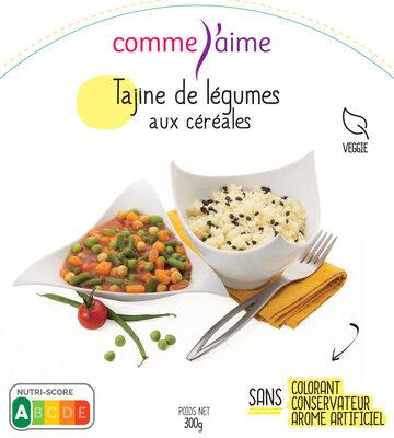 Tajine de légumes aux céréales - Product