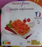 Lasagnes végétariennes - Produkt