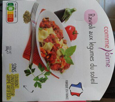 Raviolis aux légumes du soleil - Produit - fr