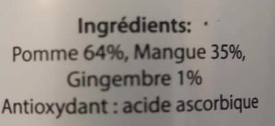 Detox juice - Ingrédients - fr