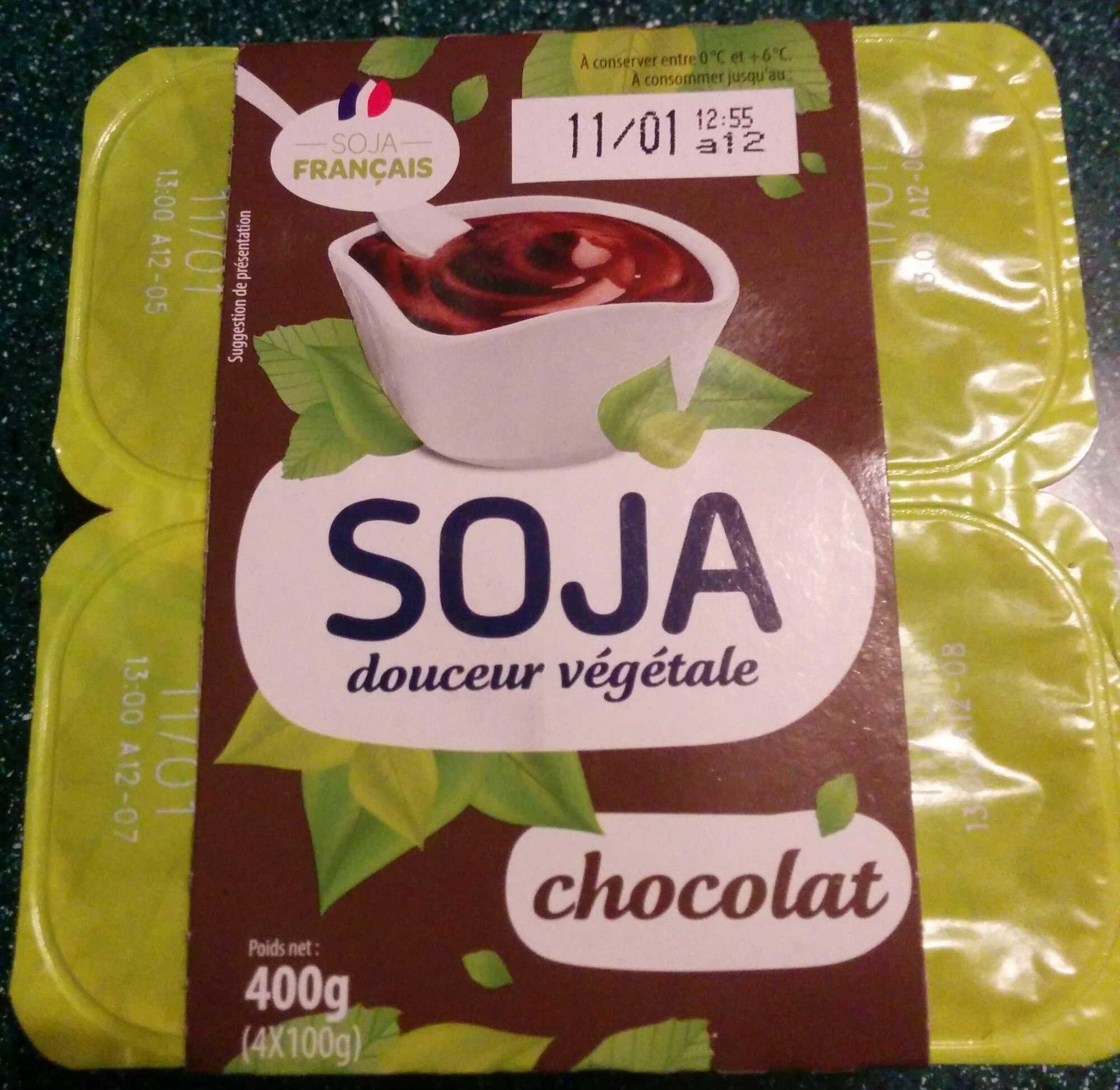 Soja douceur végétale chocolat - Produit - fr