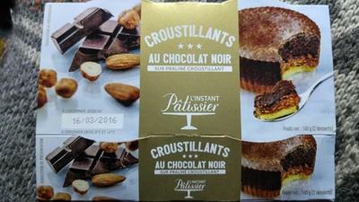 Croustillants au chocolat noir sur praline croustillant - Produit - fr