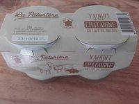 Yaourt au lait de brebis sur lit de châtaigne - Product