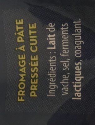 Emmental français râpé - Ingredients
