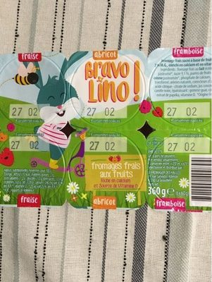 Petits Suisses Bravo Lino - Product - fr