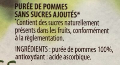 Compotes De Pommes - Ingrediënten
