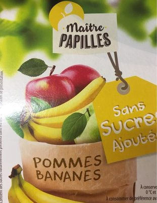 Compote Pommes Bananes - Product