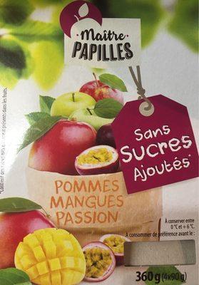 Compote Pommes Mangues Passion - Produit - fr