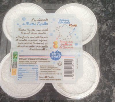 Les desserts de Chataignes d'Ardèche - Produit - fr