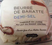 Beurre de Baratte Demi-Sel - Informations nutritionnelles - fr