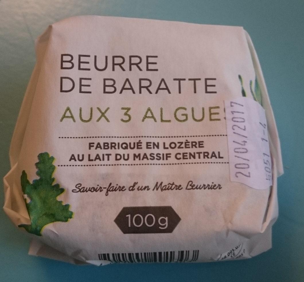 Beurre de Baratte aux 3 Algues - Produit - fr