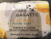 Beurre de Baratte au Citron et Poivre Vert - Product - fr