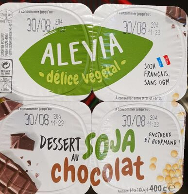 Dessert soja au chocolat - Product - fr