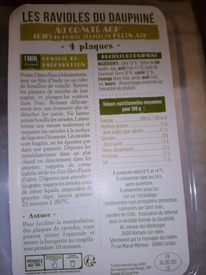 ravioles - Prodotto - fr