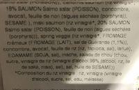 Bento Box - Ingrédients - fr