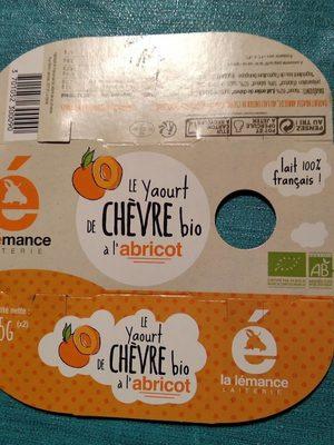 Yaourt de chèvre bio abricot - Produit